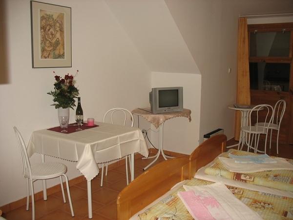 Penzion ve Vranově na jižní Moravě- apartmá