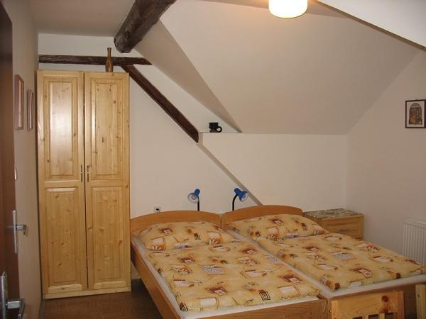 Jižní Morava - Penzion ve Vranově - pokoj
